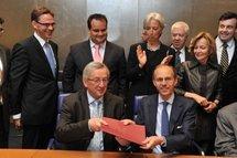 Les ministres de Finances de la zone euro