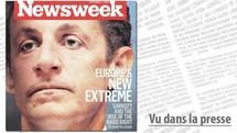 """Sarkozy figure du """"nouvel extrémisme en Europe"""" pour Newsweek"""