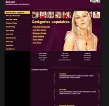 Le nom de domaine sex.com se vend 13 millions de dollars