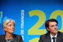 Christine Lagarde et François Baroin