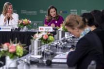 Des femmes ministres des Affaires étrangères en conclave à Montréal