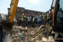 Nigéria / Effondrement d'un immeuble à Lagos : 41 survivants évacués selon les autorités