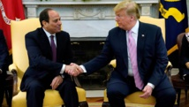 """Trump loue le """"très bon travail"""" du président Sissi en Egypte"""