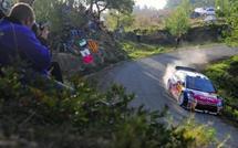 WRC - Rallye de France/Alsace - 1re journée: Ogier en tête après 4 spéciales