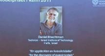 Le Nobel de chimie à l'Israélien Daniel Shechtman