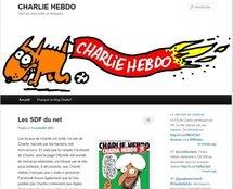 Faute de retrouver son site, Charlie Hebdo créé un blog