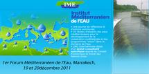 1er Forum Méditerranéen de l'Eau, les 19 et 20 décembre à Marrakech