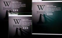Protestation contre une loi antipiratage: Wikipédia anglais fermé 24 h