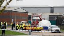 Grande Bretagne: La police annonce la découverte de 39 corps dans un conteneur
