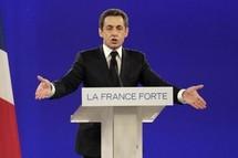 France: Sarkozy place l'Europe au centre de la campagne