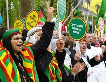 France: des milliers de Kurdes manifestent devant le Conseil de l'Europe