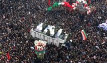 Une foule immense rend hommage au général Soleimani à Téhéran