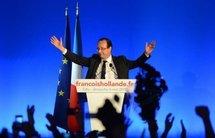 François Hollande élu président de la France, en appelle à l'Europe