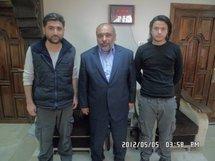 Arrivée en Iran des deux journalistes turcs libérés par la Syrie