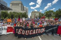 Québec: pas de pause estivale dans la fronde des étudiants contre les frais de scolarité