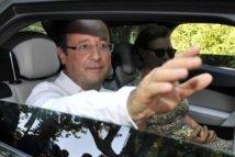 François Hollande reçoit à Brégançon les membres de collectifs contre le gaz de schiste