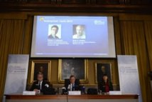 Le Nobel de Chimie à deux chercheurs américains