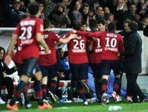 Football: Lille qualifié au bout de la prolongation en Coupe de la Ligue