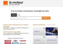 Lancement d'un moteur de recherche référençant la presse française