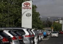 Toyota va payer 1,1 milliard de dollars aux propriétaires de voitures rappelées