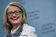 """La """"diplomate rock star"""" Hillary Clinton s'en va avec un oeil sur la Maison Blanche"""