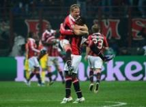Ligue des champions: l'AC Milan prend une sérieuse option sur les quarts
