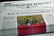 L'Osservatore Romano, journal du pape, à la fois moderne et dans la ligne
