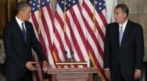 Barack Obama et John Boehner