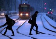 Europe: chutes de neige exceptionnelles, des transports paralysés