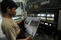 Birmanie: premiers quotidiens privés depuis un demi-siècle
