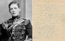 GB: Le manuscrit d'un poème inédit de Winston Churchill n'a pas trouvé preneur