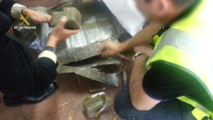 Espagne: saisie exceptionnelle de 32 tonnes de haschisch dans une cargaison de melons