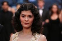 """Audrey Tautou, d'""""Amélie Poulain"""" au tapis rouge de Cannes"""