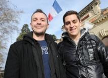 Vincent Autin et son compagnon Bruno