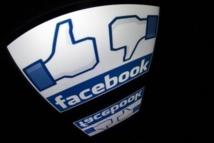 Facebook: les Etats-Unis ont requis des milliers d'informations en 2012