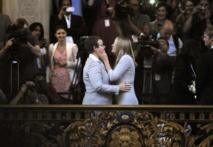 Etats-Unis: la Californie peut à nouveau marier les homosexuels