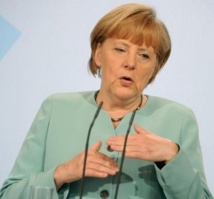 La chancelière allemande Angela Merkel