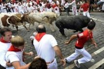 Espagne: deux blessés lors du cinquième lâcher de taureaux de la San Fermin