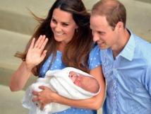 Kate, William et leur fils ont regagné leur palais de Kensington
