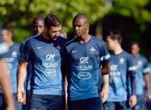 Eric Abidal et Karim Benzema