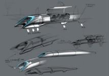 """Ni avion ni train, """"Hyperloop"""" promet un voyage supersonique en... capsule"""