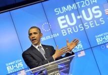 Ukraine: Obama réaffirme sa solidarité avec les Européens mais les appelle à l'effort