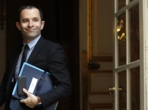 Le ministre de l'Education nationale Benoit Hamon