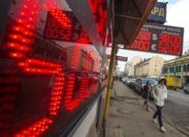 Crise ukrainienne: faiblesse record du rouble face à l'euro