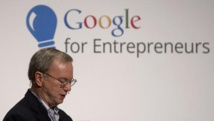 Le patron de Google Eric Schmidt