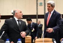 John Kerry  et Haidar al-Abadi