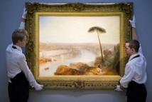 """Enchères: 38,6 millions d'euros pour """"Rome, vue de l'Aventin"""" de Turner, un record"""