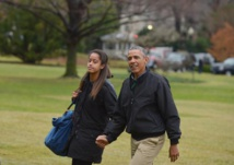 Malia Obama, le T-shirt et la photo qui font le buzz