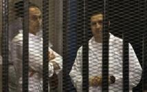 Egypte: les deux fils de Moubarak remis en liberté
