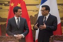 Manuel Valls et Li Keqiang